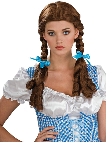 Wizard Of Oz Dorothy Wig One Size Brown