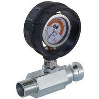 PFT Mortar Pressure Gauge with Material Outlet Ritmo