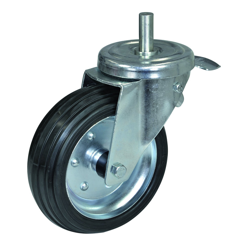 PFT Small Wheel with Brake 230mm G4/G5