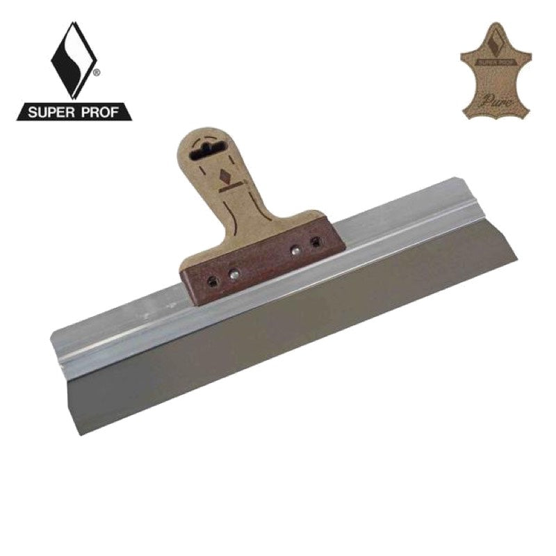 Spatula Leather Grip/Square Corners 760mmx0.4mm
