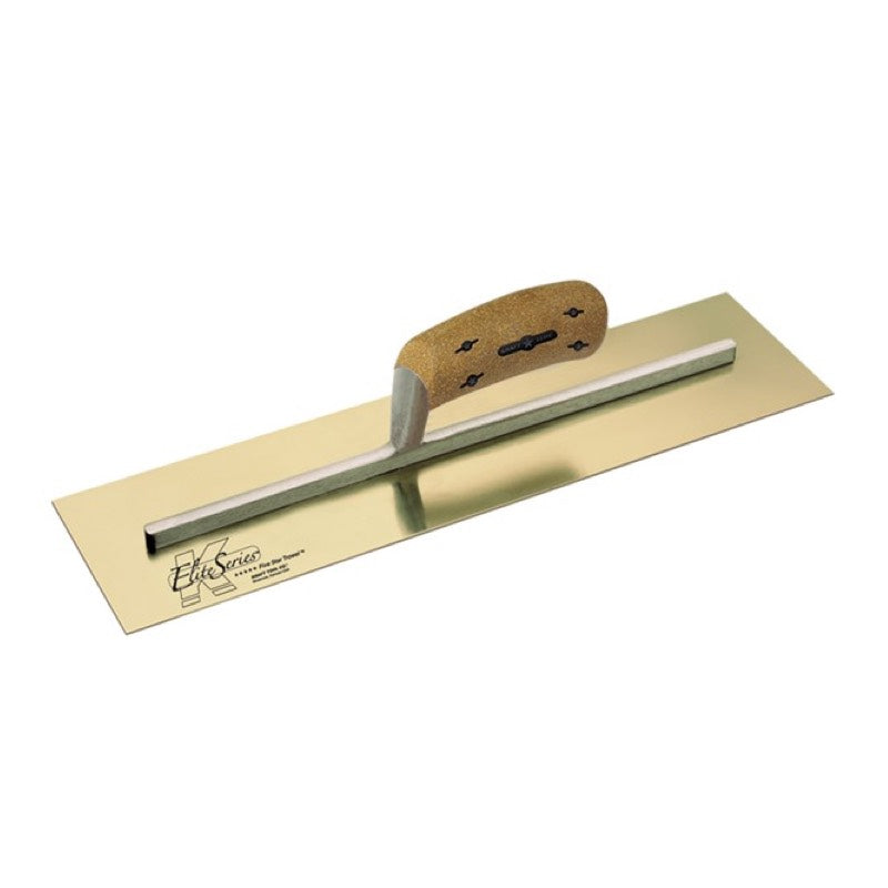 "Kraft Elite Trowel Golden SS Cork Handle 14""x5"""