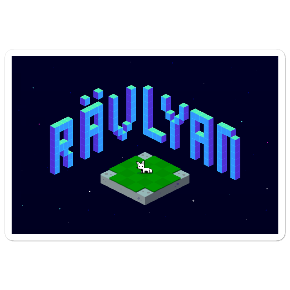 Rävlyan Logo Sticker