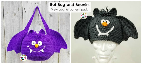 Bat Bag and Beanie