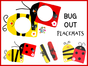 Bug Out Placemats