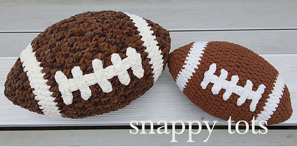 XL and XXL Football Pillows