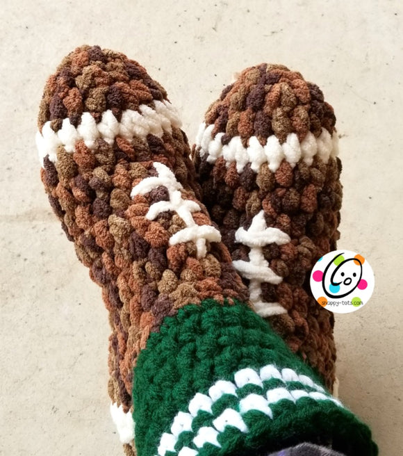 Football Fan Slippers