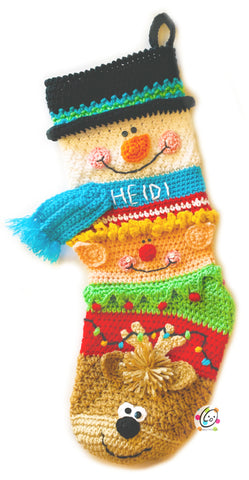 Sampler Friends Stocking EVENT