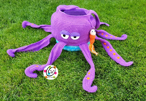 Gus the Octopus Bag