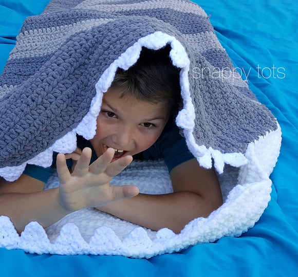 Shark Nap Blanket