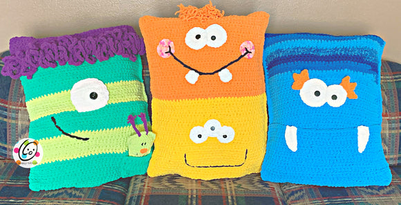 Monster Pillow Bed