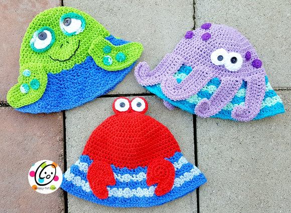 Ocean Friends Sunhat