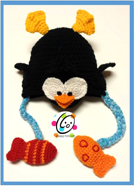 Fishing Penguin Hat