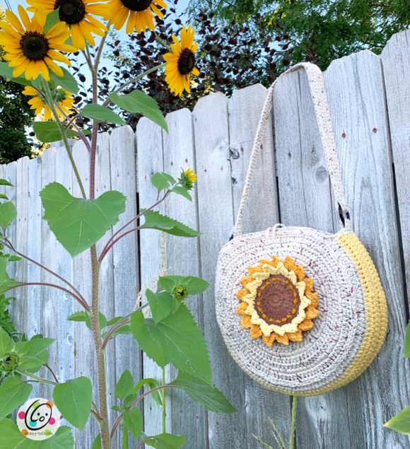 Sunflower Circle Tote