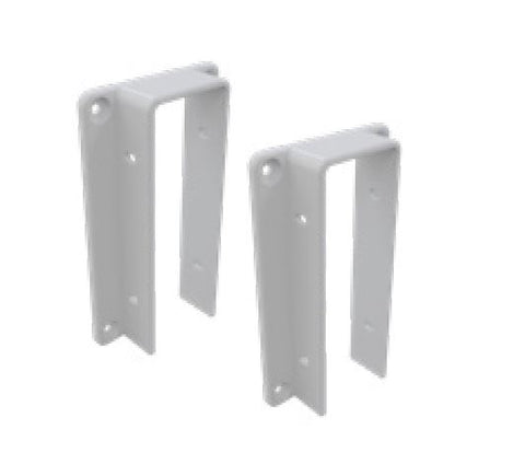 Wall/post brackets 2 PACK for Hamptons PVC fencing