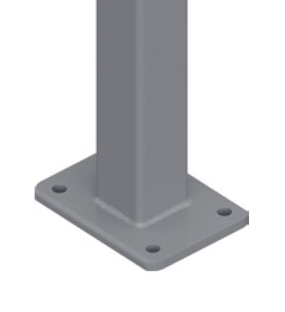 50x50mm base plated post 1300mm OR 1600mm H
