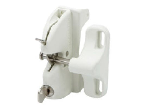 White Lokk Latch® KEYED TO DIFFER
