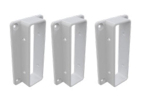 Wall/post brackets for 3 Rail Hampton Fencing