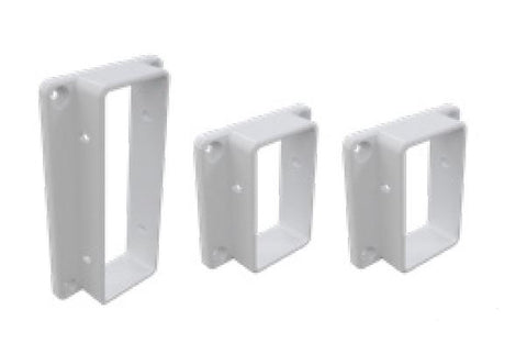 Wall/post brackets 3 PACK for Semi privacy Hamptons fencing