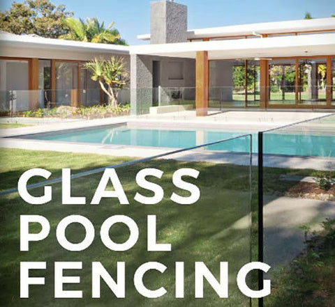 Frameless 12mm Glass Pool Fence Panels, choose your size - No Spigot