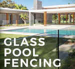 Frameless 12mm Glass Pool Fence Panels, choose your size and spigot.