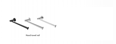 Hand Towel Bar/Holder/Rail/Ring Choose the finish / colour.