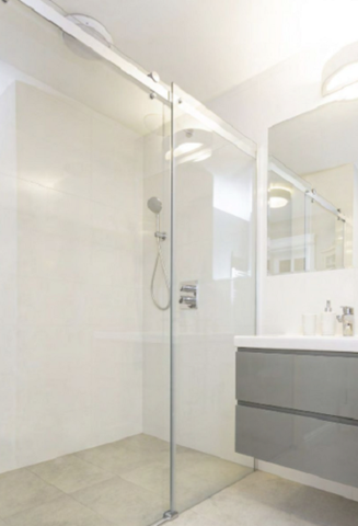 10mm Frameless Sliding Shower Screen,