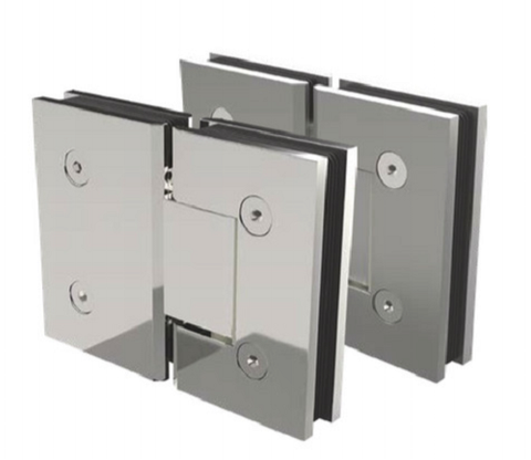 180° Shower Screen Door Hinge Shower Enclosures Glass Hinge, Glass to Glass,