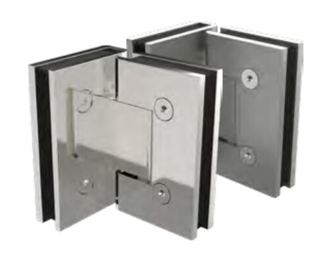 90 degree Frameless Shower Door hinge