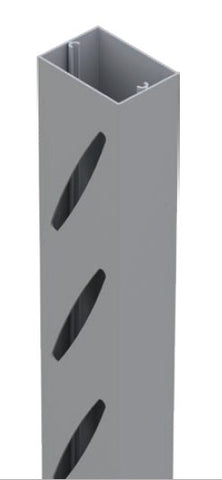 Slotted mid-rail 60mm x 42mm NIL SPACING 5800MM LONG