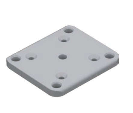 115mm x 100mm base plate set
