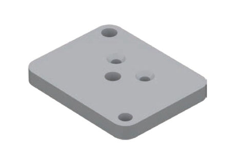 Base plate set (for side frame)