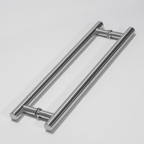 H TYPE DOOR HANDLE DOUBLE H 600X32 500MM CTC    GLASS, TIMBER OR ALUMINIUM DOORS
