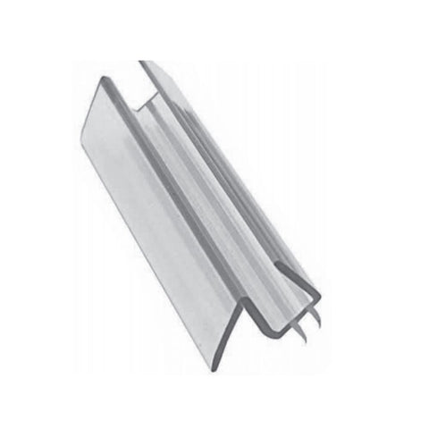 SEMI FRAMELESS SHOWER CLEAR PVC WATERSEAL FLAP 6MM DOOR BOTTOM 750mm