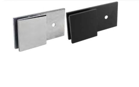Wall Brackets for Frameless Glass Shower Screens, SOLID BRASS, Suits 6mm, 8mm, 10mm