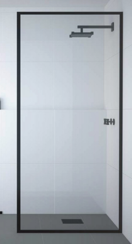 Framed Fixed Shower Screen Kit, Make your own size!