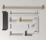 Towel Rail, 900mm, 600mm, 300mm , Stainless Steel, Choose Finish