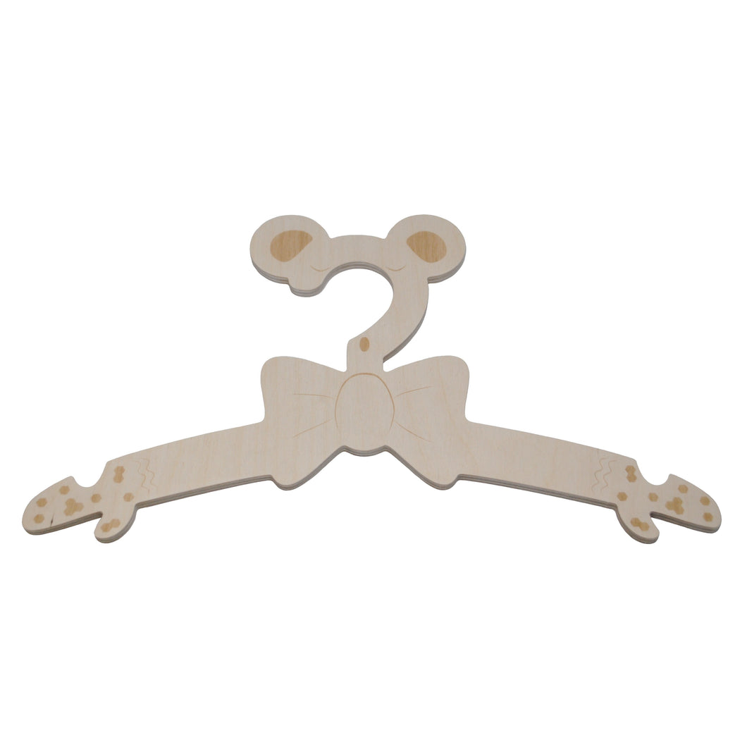 Hangers Dear Bear - Package with 3 pcs - 25% discount