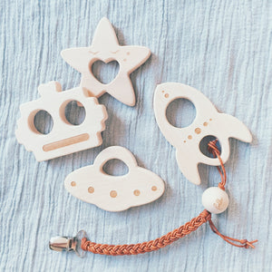 Teether Rocket - Package with 3 pcs
