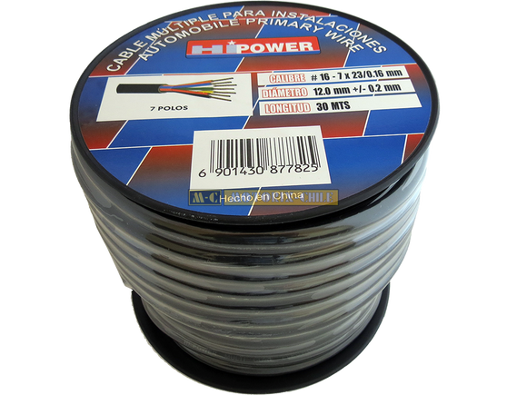 CABLE AWG 16 MULTIPLE - GOMA [CE-MC-7/16]
