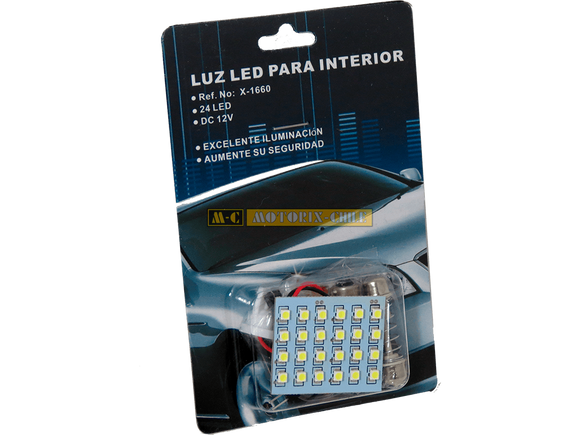 LUZ INTERIOR 24 LED [X-1660]
