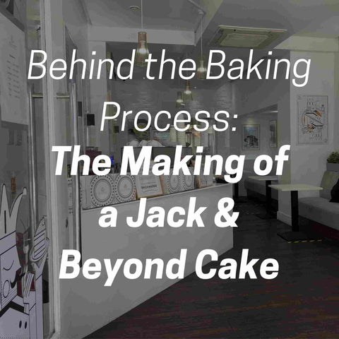 Behind the baking process: the making of a Jack and Beyond cake.