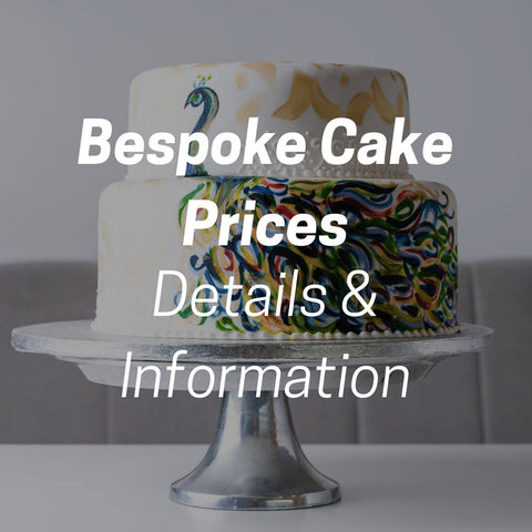 Bespoke cake prices - details on how much a custom cake is.