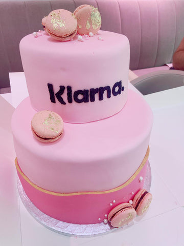 Special event cake inspiration photo 1 - A corporate cake for a well know brand.