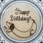 Personalised Apple & Caramel Cake