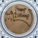 Personalised Chocolate & Orange Cake