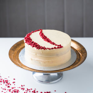 Personalised Red Velvet Cake
