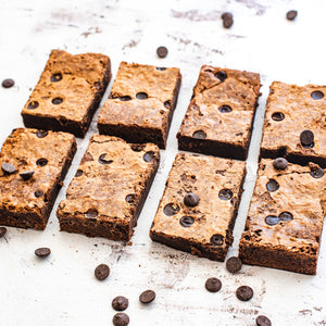 Chocolate Chip Brownie Box of 8