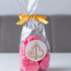 Pink Heart Meringue Gift Bag