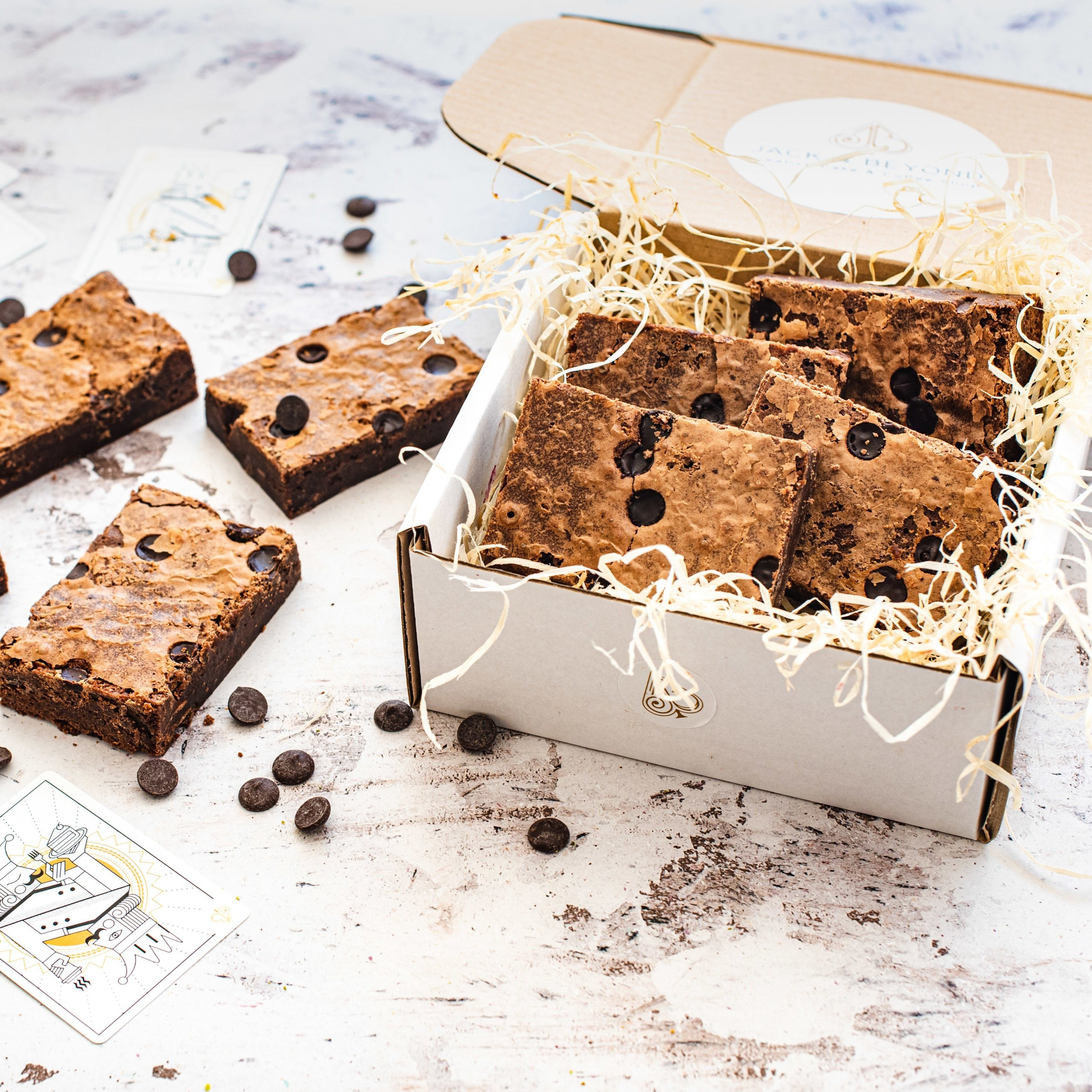 Chocolate Chip Brownie Box