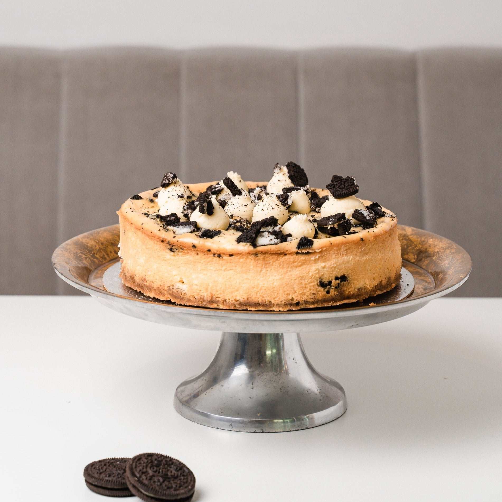 Personalised Oreo Cookie Cheesecake